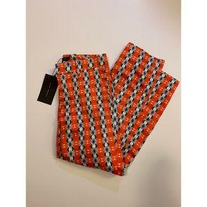 NWT Zara Woman Patterned Slim Cut Dress Pants
